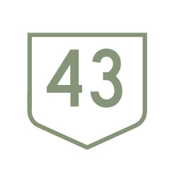 43 North Parts logo